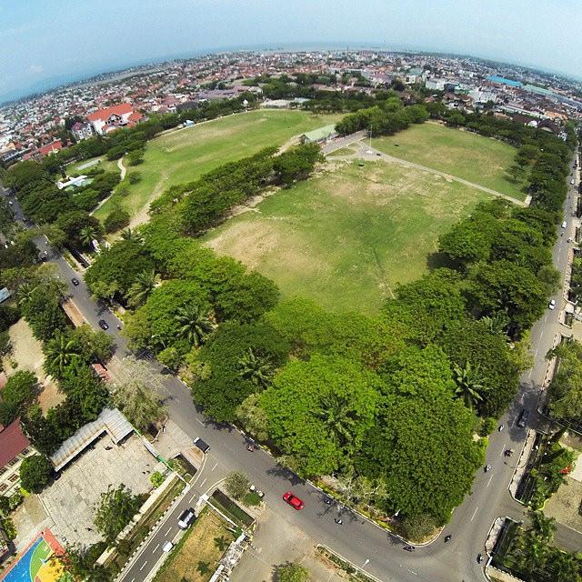 Lapangan Blang Padang World Tempat Ramai Flickr Dikunjungi Warga Banda