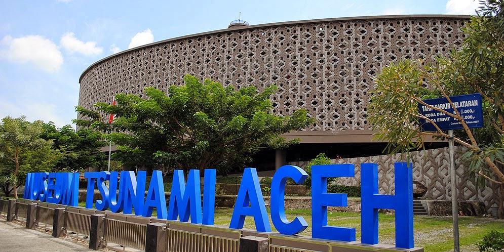 Lov Museum Tsunami Aceh Terletak Jl Iskandar Muda Banda Seberang