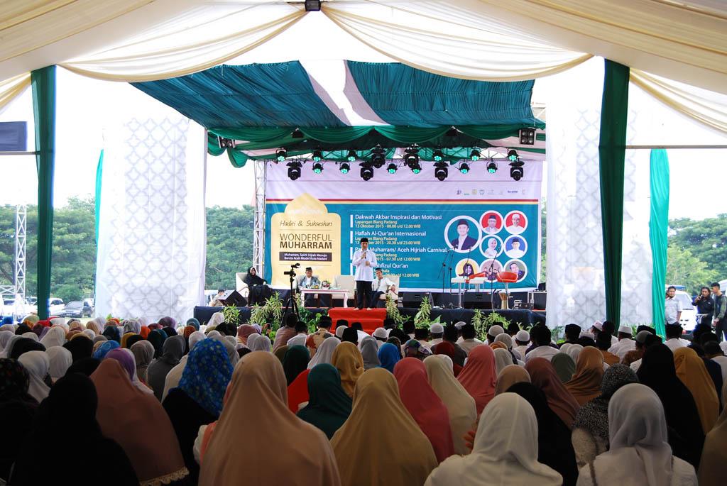 Meriahkan Islam Banda Aceh Gelar Wonderful Muharram Peringatan Lapangan Blang