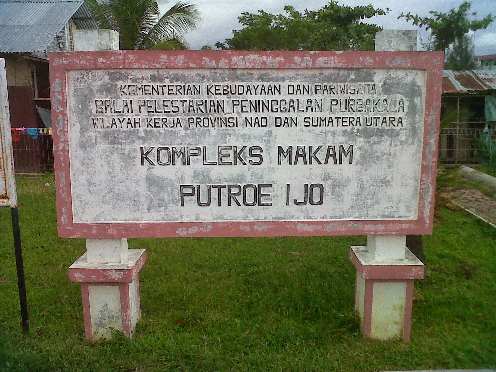 Life Aceh Komplek Makam Putroe Ijo Sultan Kandang Xii Kota