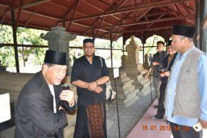 Persatuan Sejarah Brunei Pesebar Mengunjungi Situs Cagar Budaya Rombongan Kompleks