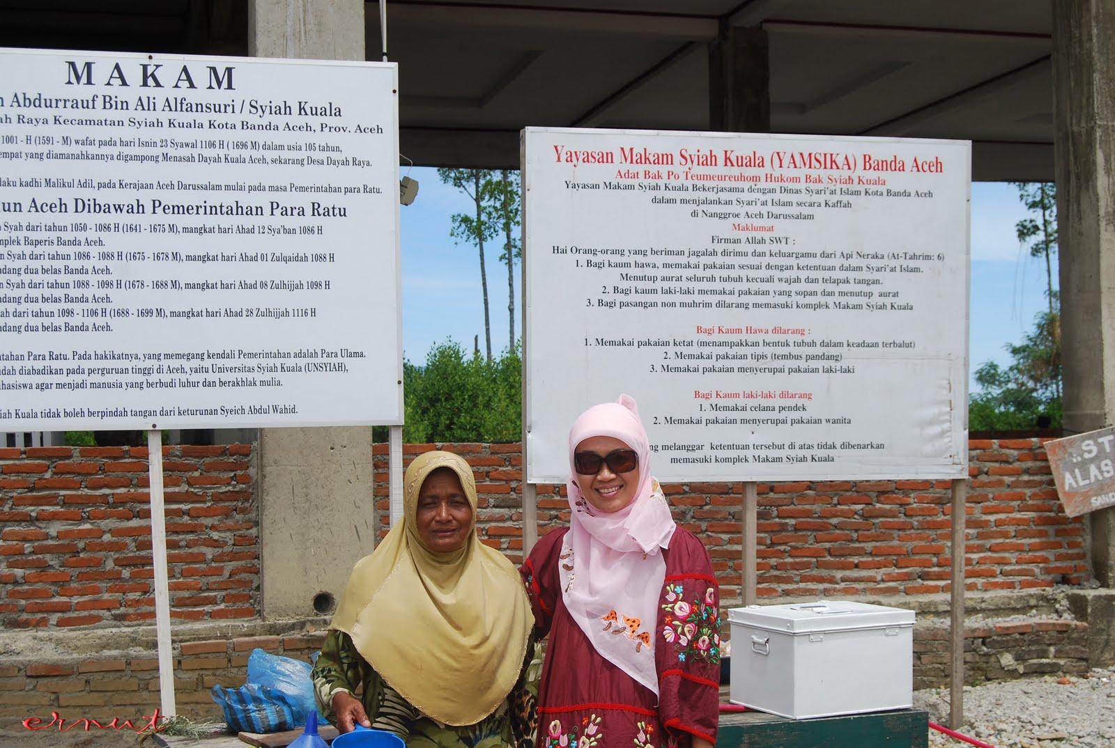 Bala Kurawa Ernut Makam Syiah Kuala Lingkungan Tersebut Sumber Air