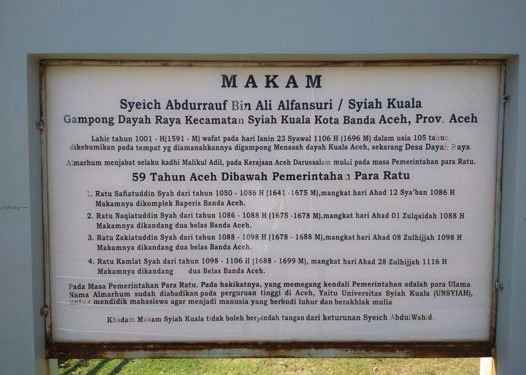 Berkunjung Makam Syiah Kuala Steemit Img 20180208 200135 Jpg Kota
