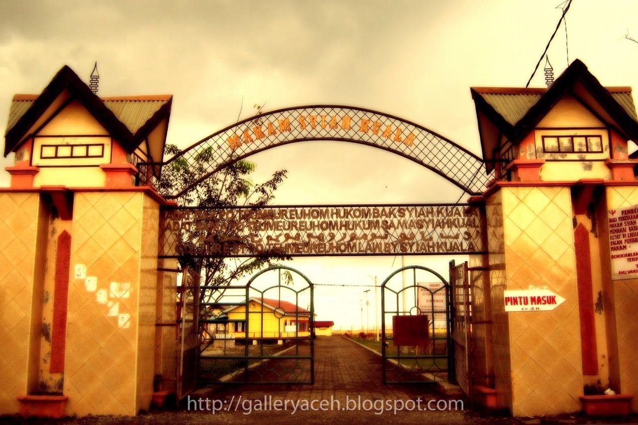 Komunitas Iloveaceh Makam Syiah Kuala Syech Abdurrauf Bin Ali Al
