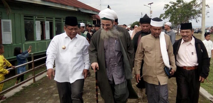 Syaikh Gibril Isi Simposium Tafsir Kompleks Makam Syiah Kuala Kota