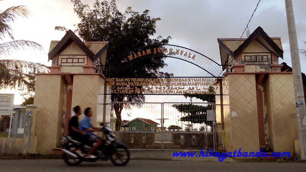 Wisata Banda Aceh Makam Terbang Alue Naga Love Pintu Gerbang