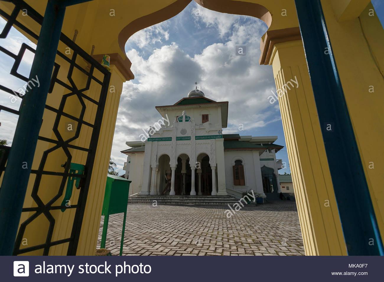 Aceh Besar Indonesia Stock Photos Masjid Baiturrahim Ulee Lheue Meuraxa