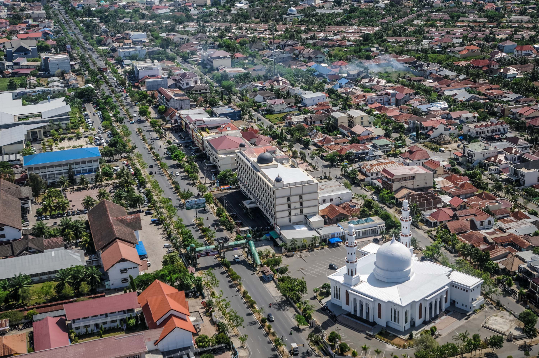 Banda Aceh Udara Charming Masjid Raya Baiturrahman Pusat Kota Oman