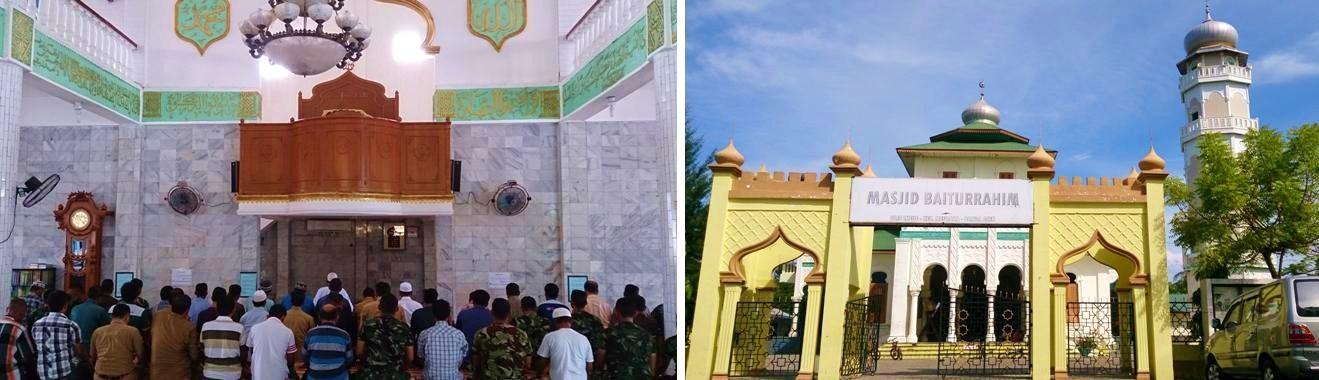 Discovered Sumatra Banda Aceh Masjid Baiturrahim Ulee Lheue Visited Perform