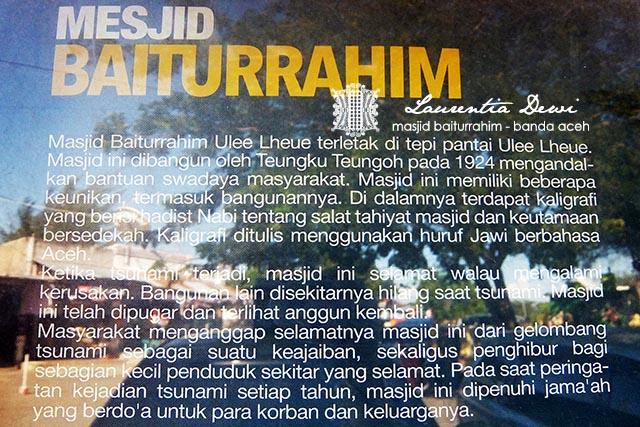 Masjid Baiturrahim Banda Aceh Disinilah Meninggalkan Jadi Foto Terbaik Bisa