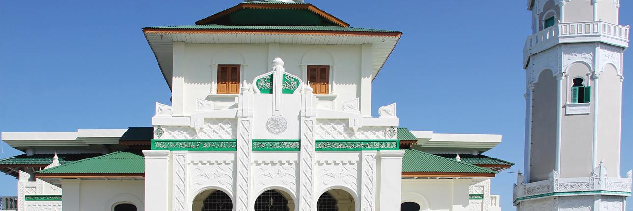 Masjid Baiturrahim Saksi Kedahsyatan Tsunami Ulee Lheue Kota Banda Aceh