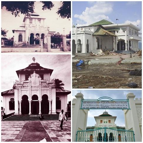 Masjid Baiturrahim Ulee Lheue Banda Aceh Model Kota Madani Metamorfosis