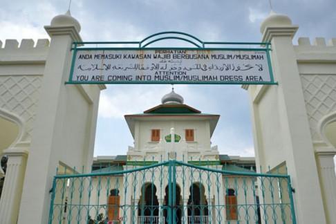 Masjid Baiturrahim Ulee Lheue Banda Aceh Rumah Alloh Kota