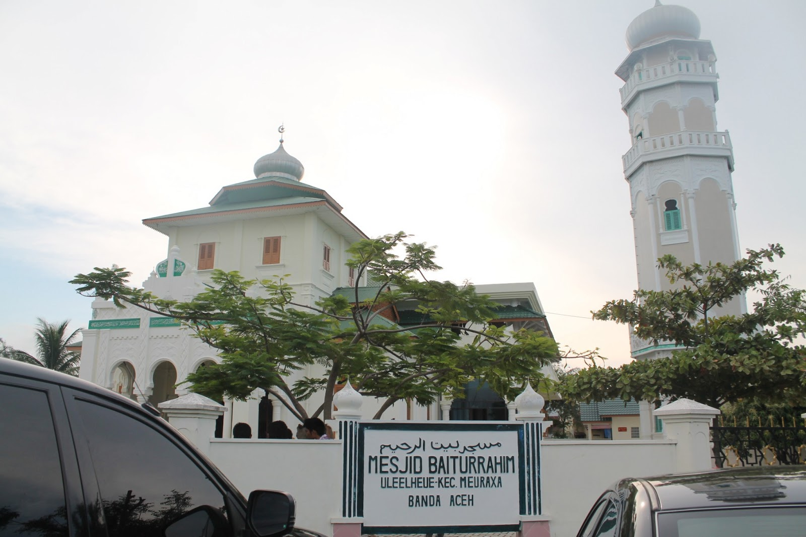 Masjid Baiturrahim Ulee Lheue Hunting Photography Architecture Historic Mosque Aceh