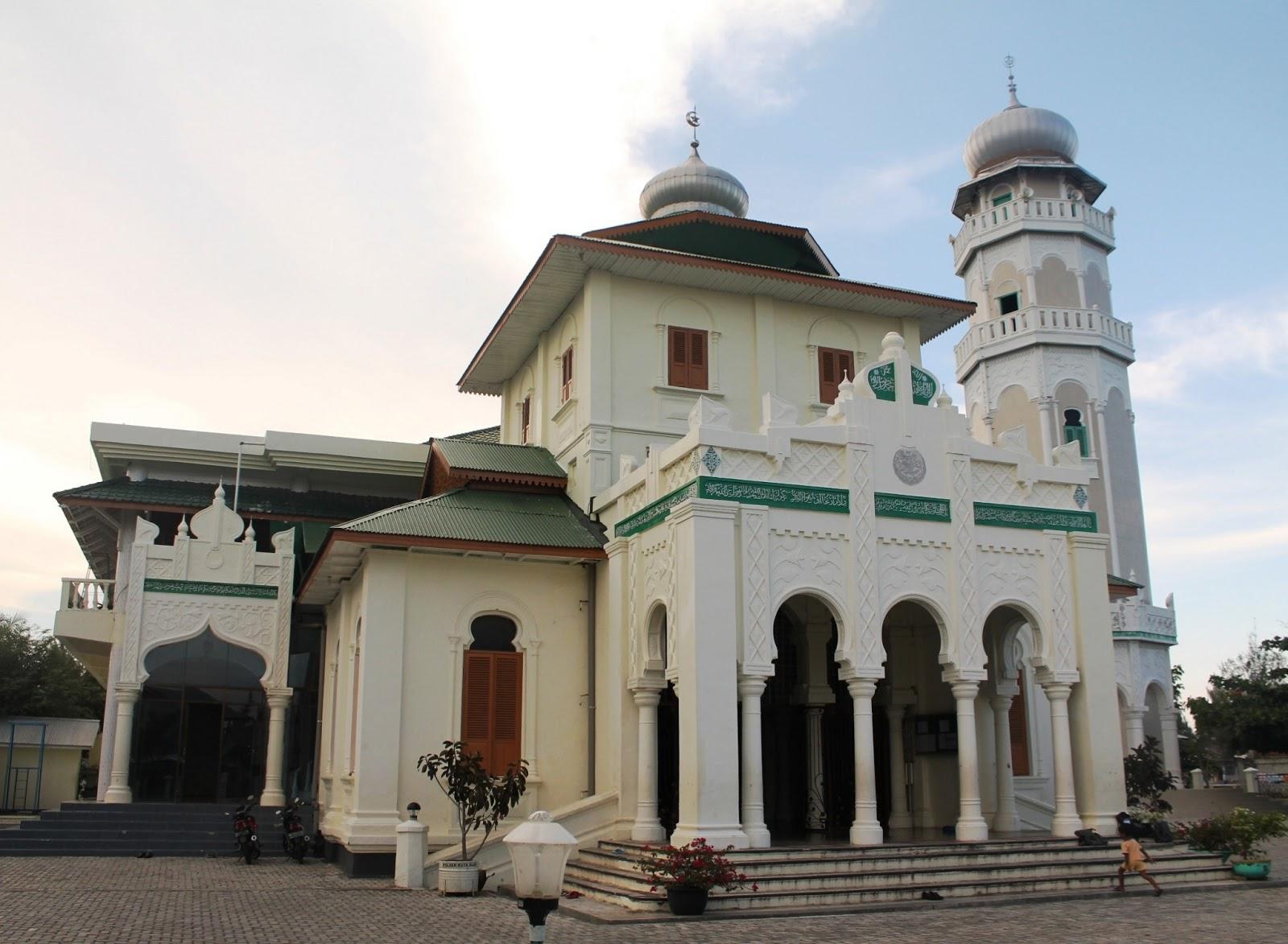 Masjid Baiturrahim Ulee Lheue Hunting Photography Architecture Kota Banda Aceh
