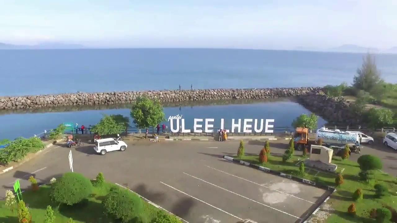 Pantai Ulee Lheue Banda Aceh Youtube Masjid Baiturrahim Kota