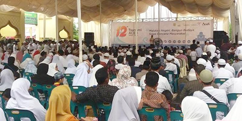 Peringatan 12 Tsunami Plt Walikota Jadi Pembelajaran Senin 26 Desember