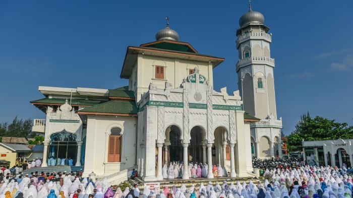 Tiang Masjid Ulee Lheue Keropos Serambi Indonesia Baiturrahim Kota Banda