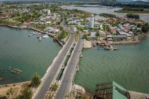 Ulee Lheue Kutaraja Kesbangpol Kota Banda Aceh Foto Udara Menggunakan