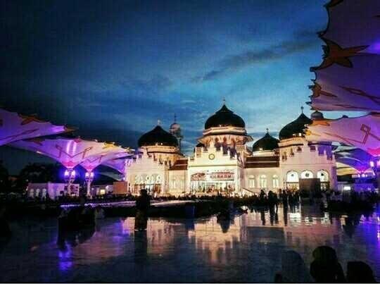 Architecturalphotography Mesjid Raya Baiturrahman Kota Banda Aceh Masjid