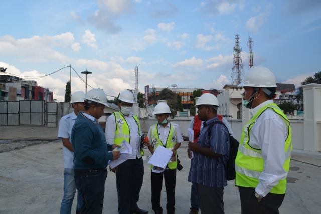 Dsi Aceh Tinjau Proyek Masjid Raya Baiturrahman Dinas Syariat Pejabat