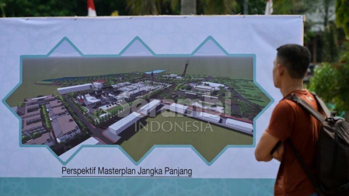 Inilah Wajah Masjid Raya Baiturrahman Depan Serambi Kota Banda Aceh