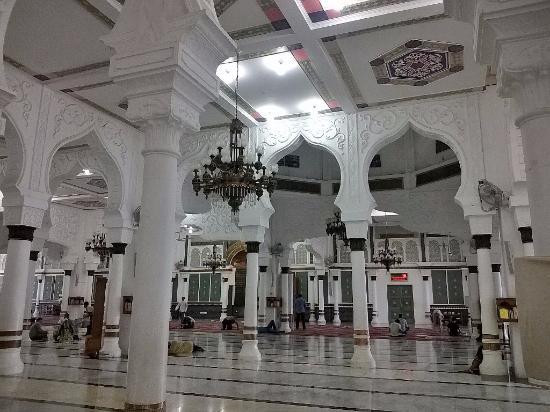 Interior Masjid Picture Baiturrahman Grand Mosque Banda Aceh Raya Kota