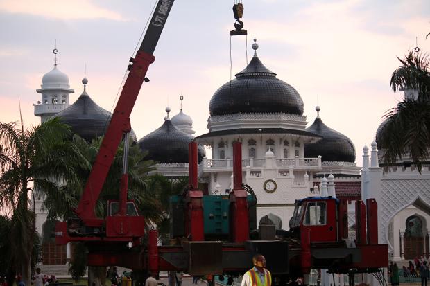 Komisi Iv Dpra Evaluasi Pembangunan Masjid Raya Baiturrahman Foto Kota