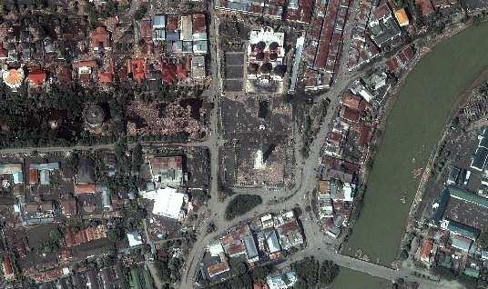Masjid Raya Baiturrahman Banda Aceh Bagian Tourism Agency Kerusakan Parah