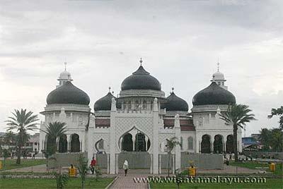 Masjid Raya Baiturrahman Melayu Online Kota Banda Aceh