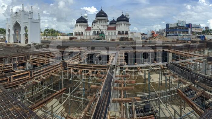 Masjid Raya Baiturrahman Siap Tampung 14 000 Jamaah Tarawih Kota