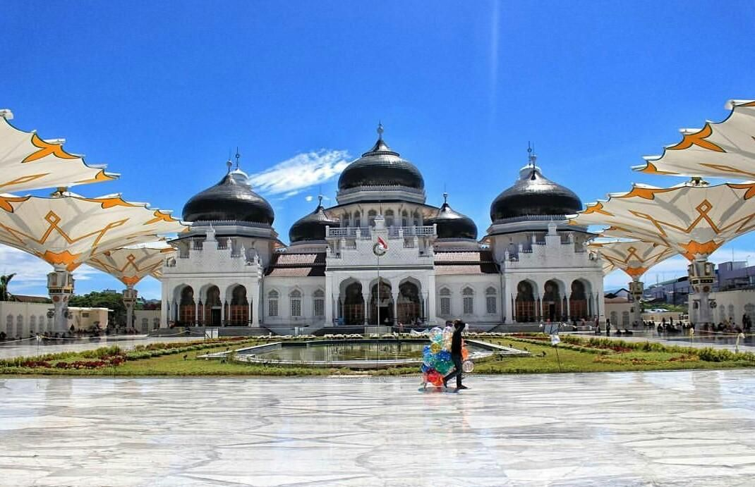 Masjid Raya Baiturrahman Steemit Kota Banda Aceh