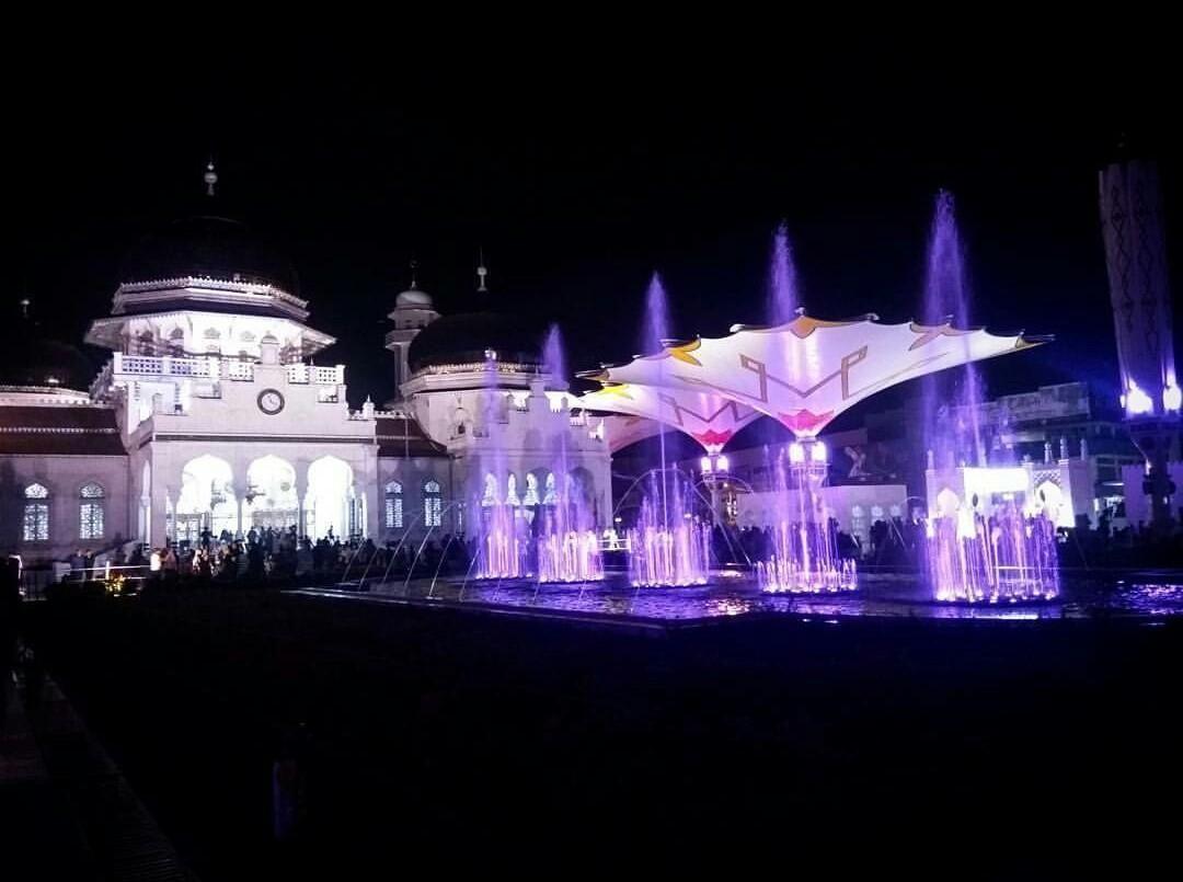 Masjid Raya Baiturrahman Steemit Tidak Sah Rasanya Berkunjung Kota Banda