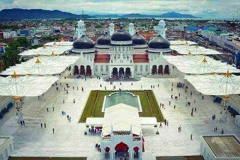 Masjid Raya Baiturrahman Steemkr Largest Grandest Mosque Located Provincial Capital