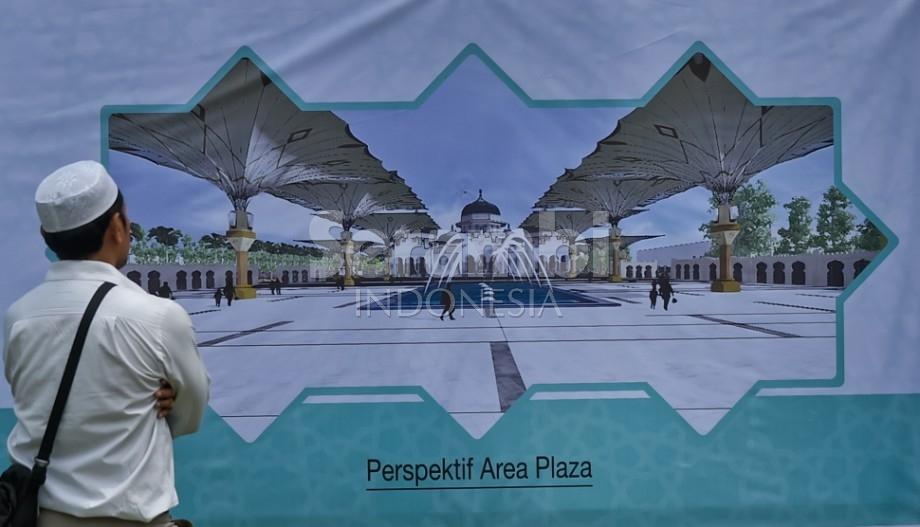 Menatapaceh Melihat Maket Rencana Perluasan Masjid Raya Baiturrahman Kota Banda