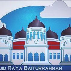 Menatapaceh Wisata Malam Krueng Aceh Kota Banda Masjid Raya Baiturrahman
