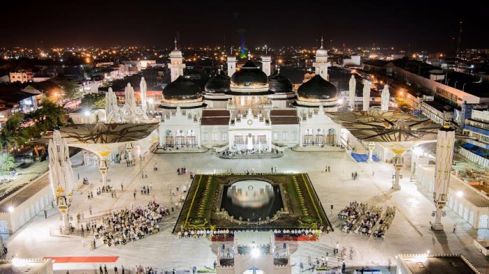 Menengok Wajah Majid Raya Baiturrahman Serambi Indonesia Masjid Kota Banda