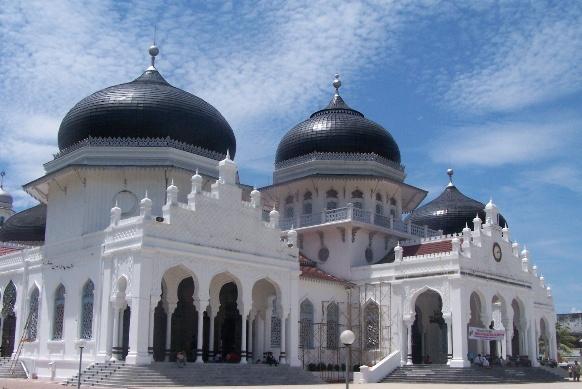 Mesjid Raya Baiturrahman Aceh Icon Wisata Islami Kota Madani Terletak