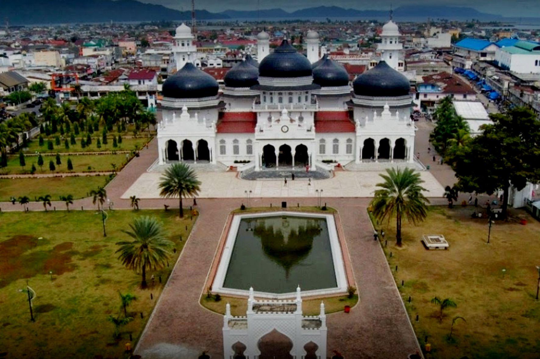 Mesjid Raya Baiturrahman Banda Aceh Indonesia Steemkr Masjid Melalui Berbagai