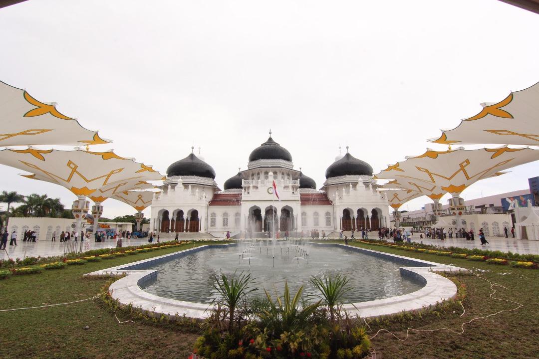 Munawar Jalil Jadi Khatib Idul Fitri Masjid Raya Baiturrahman Kota