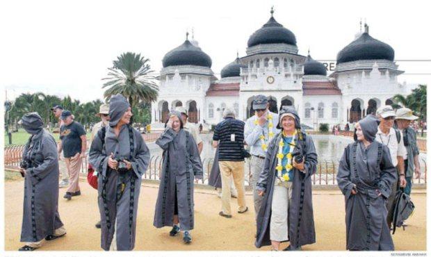 Penelitian Ternyata Banda Aceh Dijuluki Kota Madani Turis Manca Negara