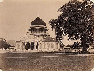 Sejarah Mesjid Raya Baiturrahman Banda Aceh Universitas Abulyatama Masjid Kota