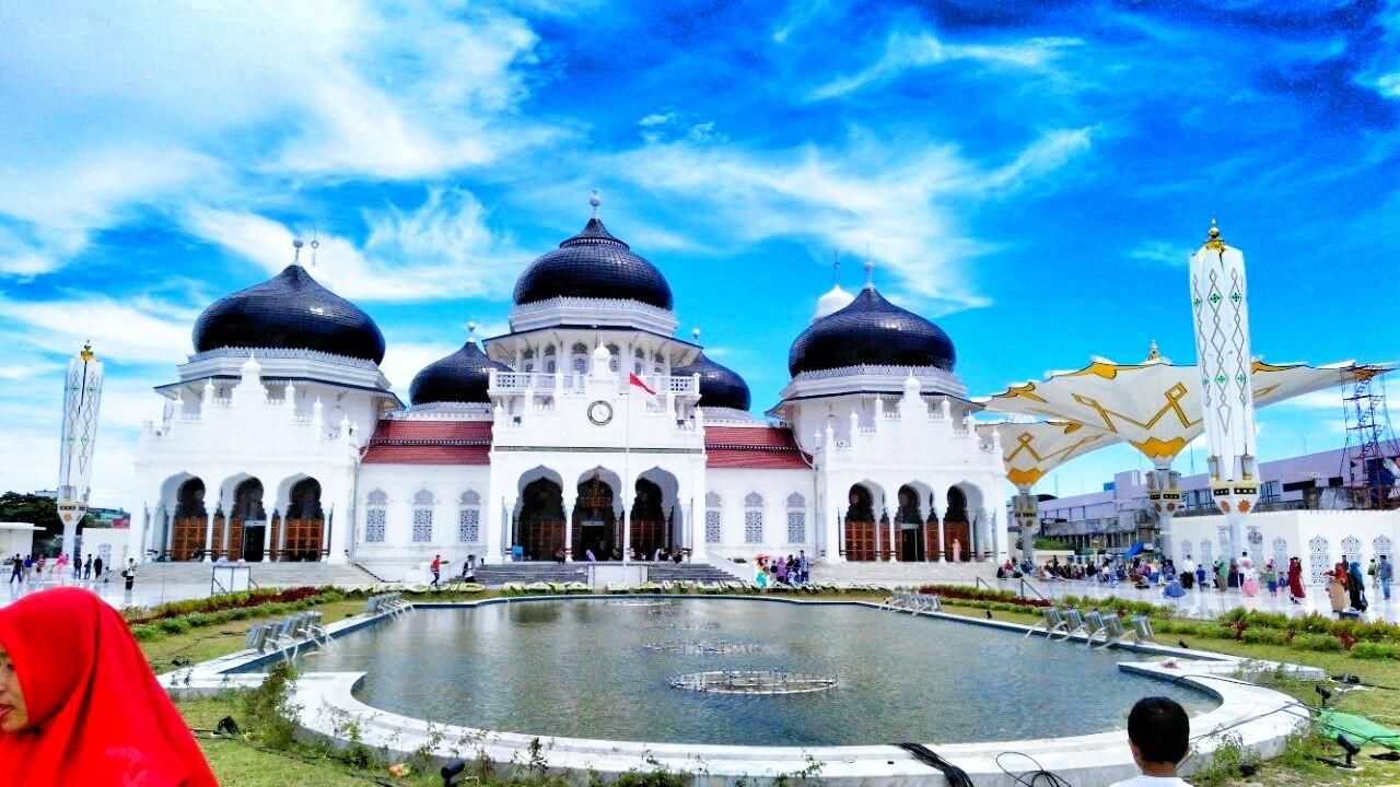 Sejarah Panjang Masjid Raya Baiturrahman Banda Aceh Steemkr Terletak Jantung