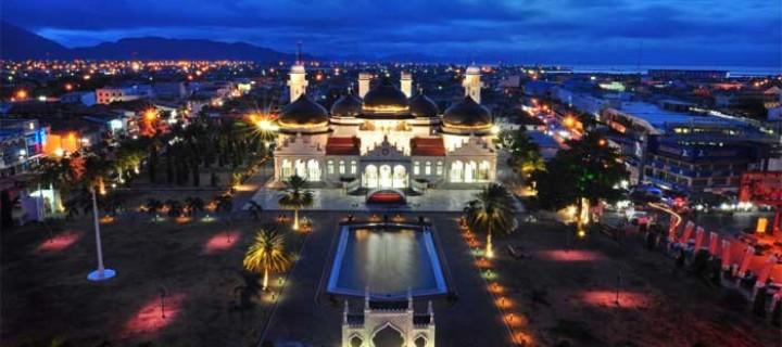 Visit Aceh Masjid Raya Baiturrahman Kota Banda