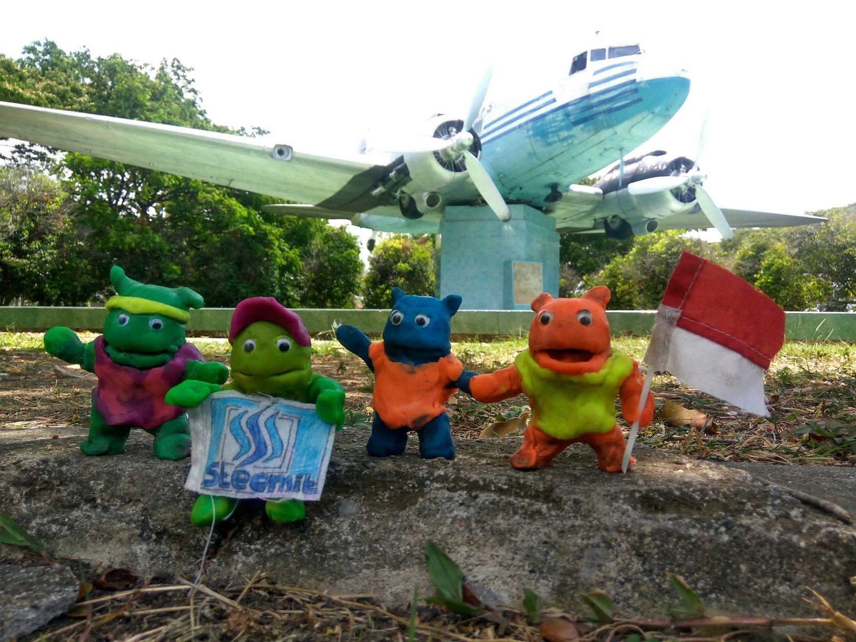 87 Kunjungan 4sekawan Lokasi Monumen Pesawat Seulawah Ri 001 Image