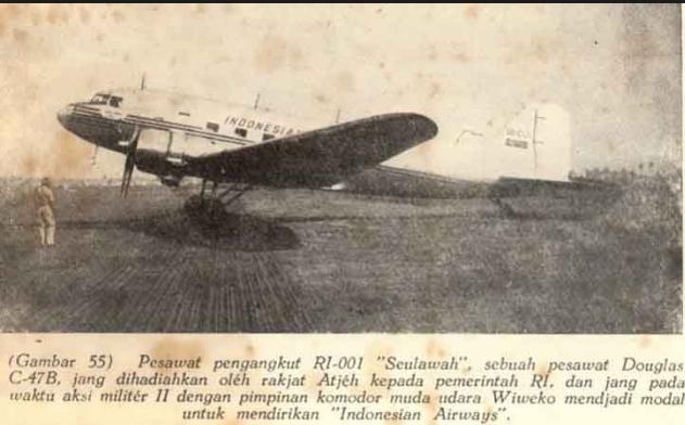 Aircraft Republic Indonesia Pesawat Pertama Seulawah Png Monumen Kota Banda