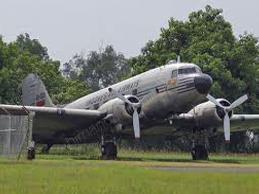 Foregone Pesawat Ri 001 Seulawah Terletak Bandara Halim Perdana Kusuma