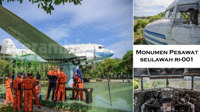 Jarang Diketahui Foto Kabin Monumen Pesawat Seulawah Ri 001 Blangpadang