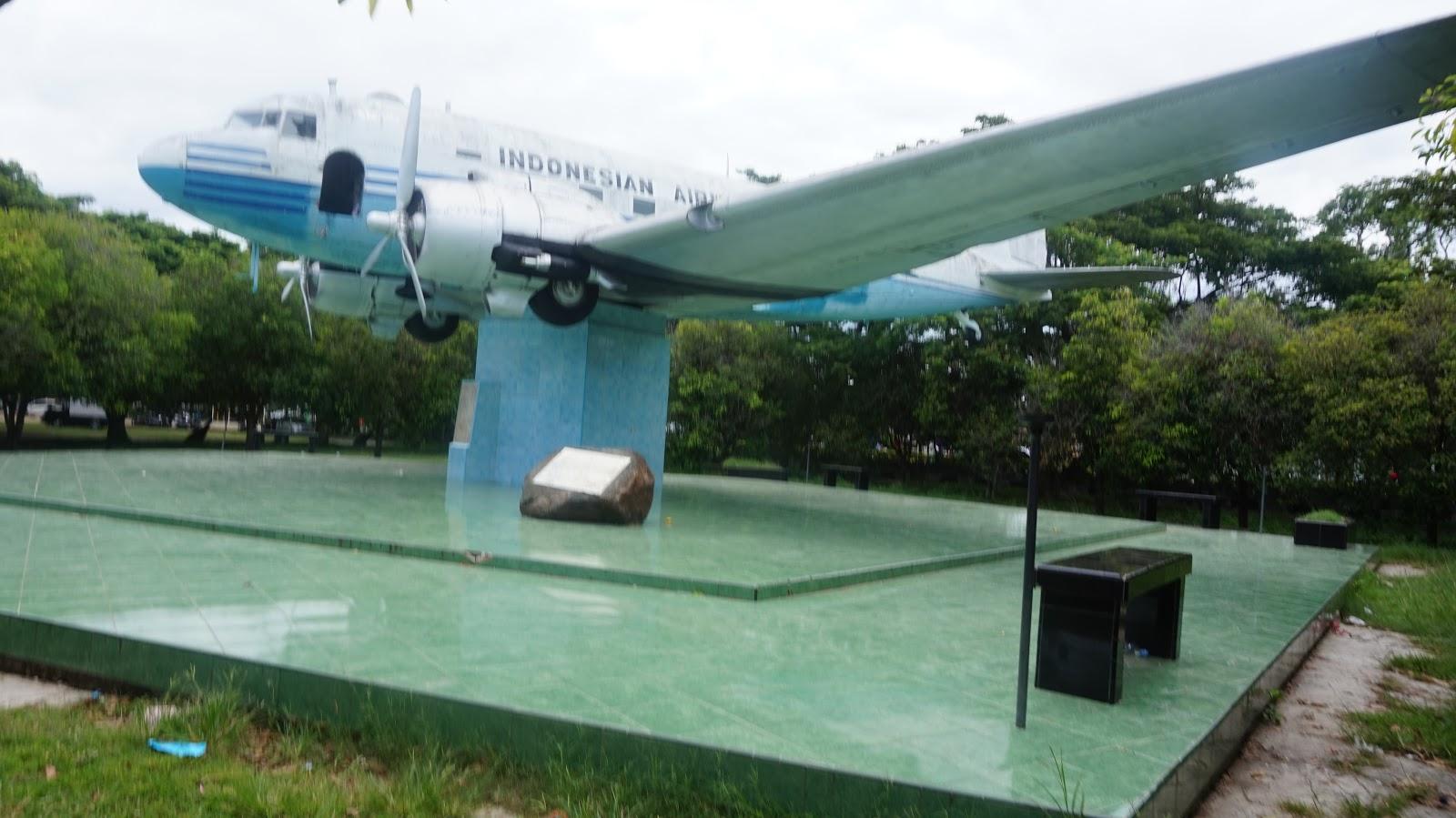 Monumen Pesawat Ri Pertama Bukti Ketulusan Rakyat Aceh Bergabung Pertemuan