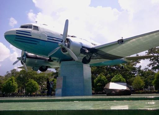 Monumen World Aceh Tourism Agency Pesawat Kota Banda